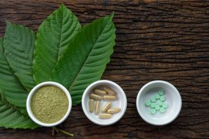 kratom powder and pills